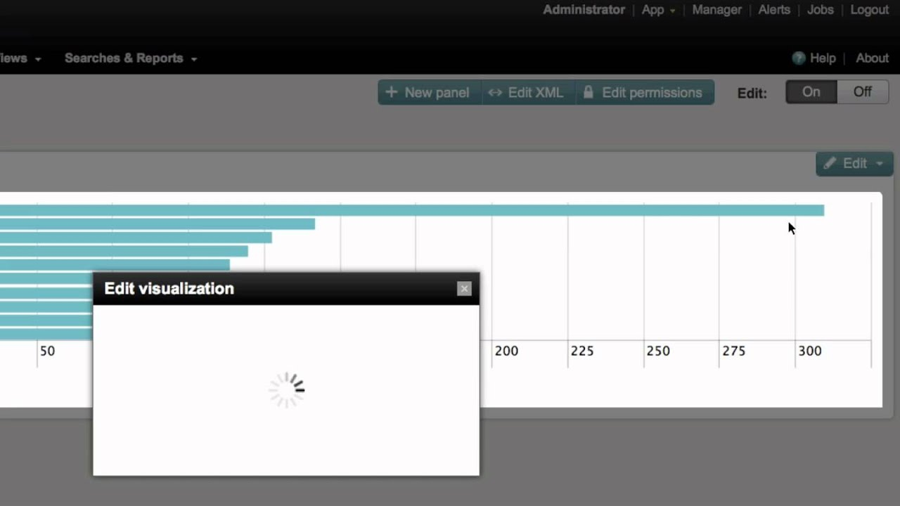 Splunk Education: Creating Dashboards