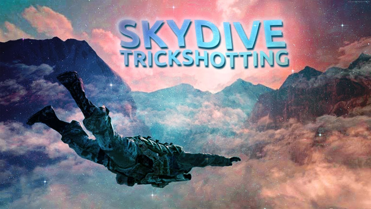 SKYDIVE TRICKSHOTTING! (Call of Duty: Modern Warfare 3 Modded Trickshotting)