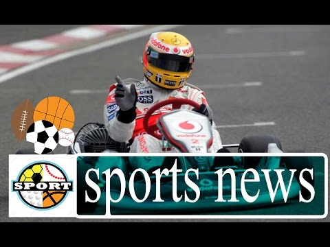 Hamilton Goes Karting With SkyF1 (2016) | Formula One Live Video