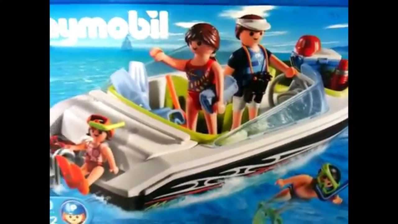 Playmobil 4862 Speed Boat