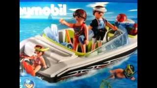 PLAYMOBIL Family Speedboat 4862 Vedette familiale Schnittiges Sportboot