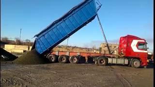 Шлак, Граншлак, Щебень, Отсев, Песок самосвалом 30 тонн(, 2016-09-14T10:53:40.000Z)