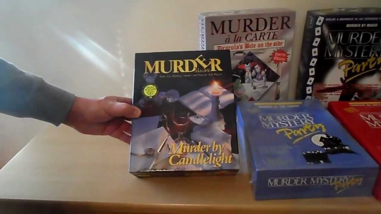 murder mystery dinner party kits