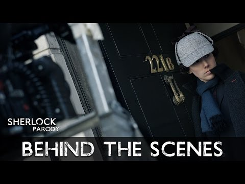 Behind The Scenes:  Sherlock Parody by The Hillywood Show®