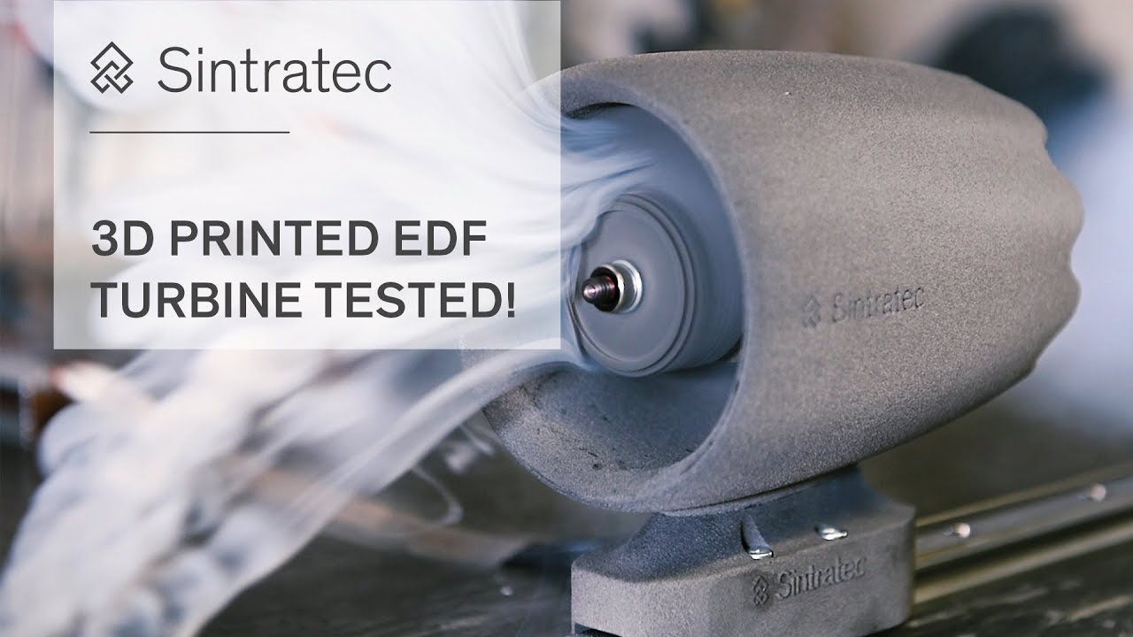 3D printed EDF Turbine TESTED - How strong is SLS?!