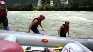 Rafting im Zillertal    von Mayrhofen - Hippach
