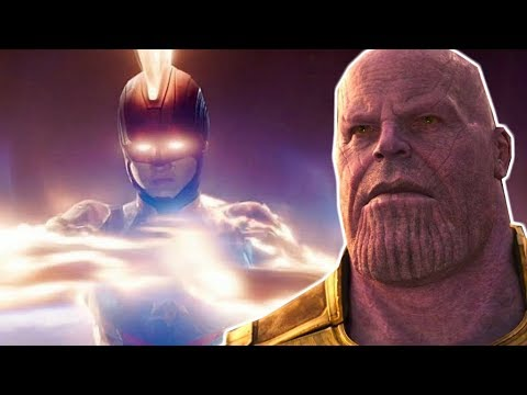 THANOS Is AFRAID of CAPTAIN MARVEL - Avengers Endgame Theory Explained