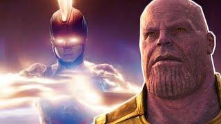 THANOS Is AFRAID of CAPTAIN MARVEL - Avengers Endgame Theory Explained