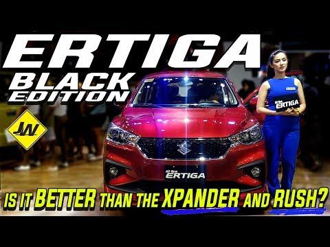 2019 Suzuki Ertiga black edition GLX -Is it better than the Xpander and the rush? -Philippines