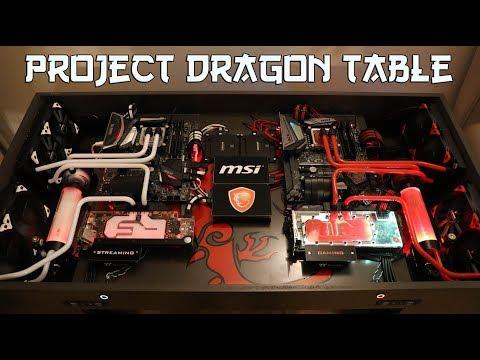 Timelapse Build - Dragon Table Build