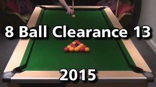 8 Ball Clearance 13- 2015 Flukey Finish