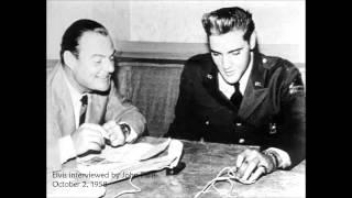 Elvis interview; October 2, 1958 - Friedberg, Germany