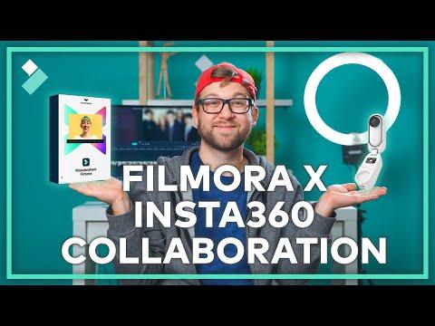 Wondershare Filmora与Insta360合作激发创造力