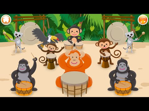 Ledy Kids | Baby Musical Instruments - Drums | Songs For Babies