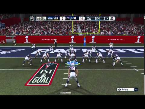 LETS PLAY SuperBowl 49 Patriots Vs Seahawks LIVE Stream (Madden)
