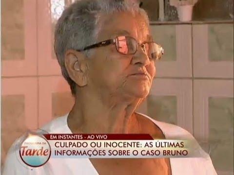 Programa Da Tarde Conversa Com A Avó Do Ex-goleiro Bruno