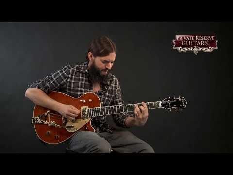 Gretsch Custom Shop Duo Jet Flame Maple Top Electric Guitar