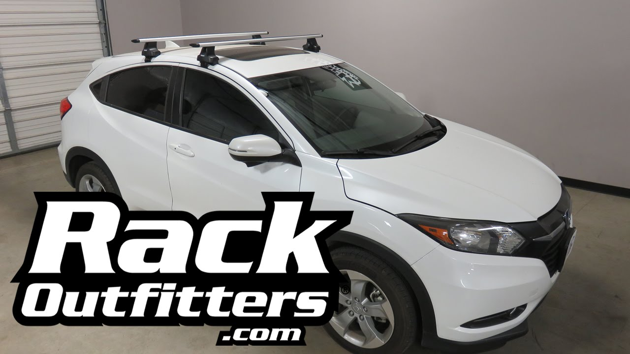 Honda Hr V With Thule 480r Traverse Aeroblade Roof Rack