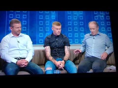 James McClean talks Euro 2016, Derry City