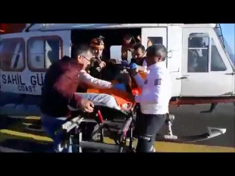 Yaralı Avcı Helikopterle Kurtarıldı