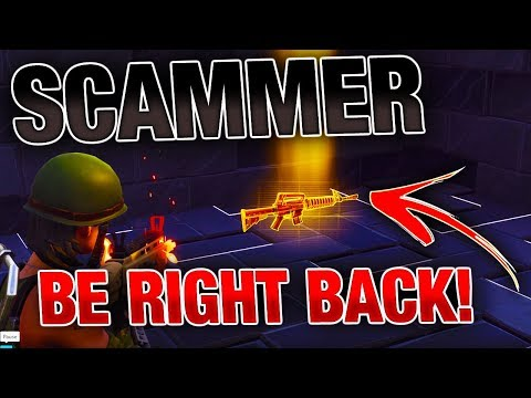 Going AFK While Trading SCAMMERS My Grave Digger! | *INSANE* Experiment! | Fortnite Save the World