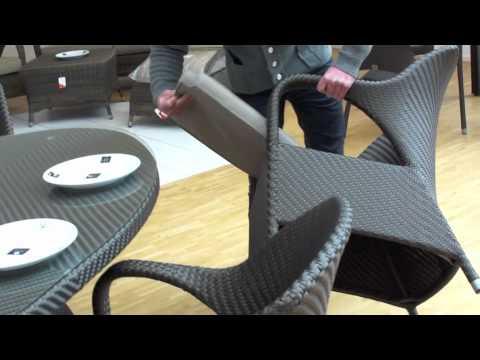 4Seasons Gartenmöbel-Sitzgruppe Sussex - YouTube