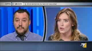 Boschi a Salvini: io eletta con una legge 'il porcellum' voluta dalla Lega
