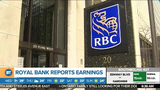 Royal Bank's earnings are below forecast, and other top business news