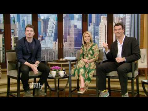 Josh Henderson's First Appearance on LIVE