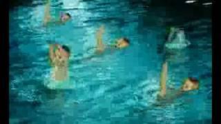 水上芭蕾全裸演出...