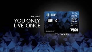 Uob Indonesia Yolo Card Youtube