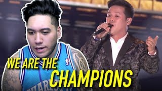 Marcelito Pomoy - We Are The Champions | America's Got Talent Champions 2020 REACTION