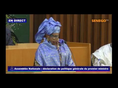 Assemblé Nationale : Déclaration de politique Générale du Premier Ministre