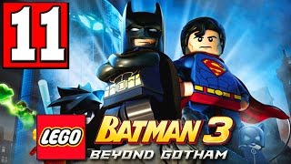 LEGO BATMAN 3 BEYOND GOTHAM Walkthrough Part 11 LEVEL THE LANTERN MENACE PS4 XBOX PC [HD]
