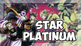 Roblox Script Showcase Episode 1046/Star Platinum Stand