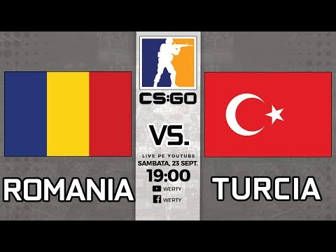 (LIVE RO CS:GO) ROMANIA vs. TURCIA  - FINALA CS:GO FEMININ CALIFICARI LAN WESG