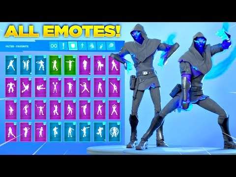 *NEW* FUSION SKIN Showcase With All Fortnite Dances & Emotes! (Season 11 Tier 100 Skin)