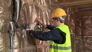 How To Insulate Timber Frame Wall With Hybris Multi Foil Reflective Insulation