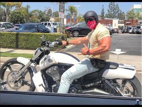 Calum Von Moger Motorcycle