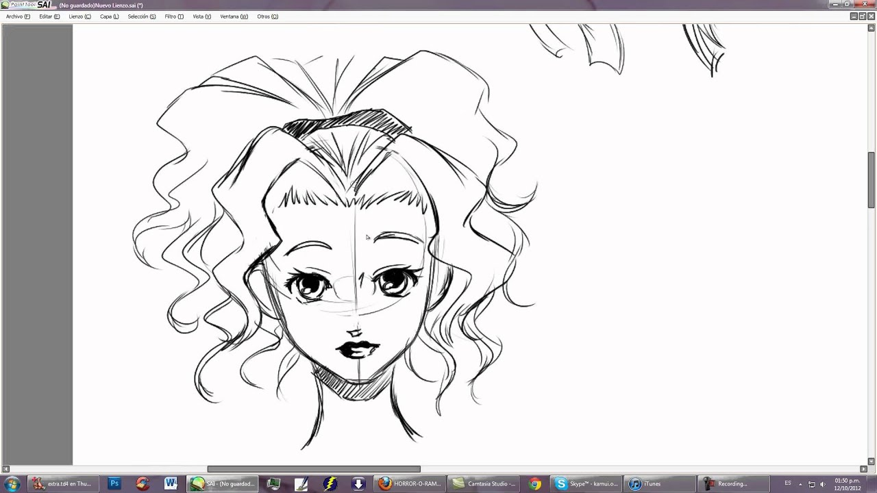 Aprende a dibujar manga con kamui chicas lindas youtube - Dibujos para sabanitas de bebe ...