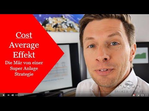 Cost Average Effekt nutzen und schlecht investieren!