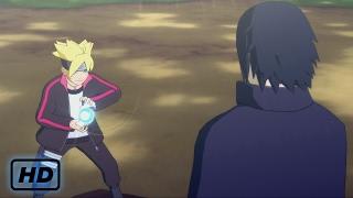 boruto vs sasuke english dub boruto learns rasengan training naruto storm 4 road to boruto