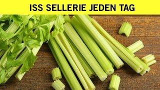 Wenn du jeden Tag Sellerie für eine Woche isst wird das mit deinem Körper passieren!