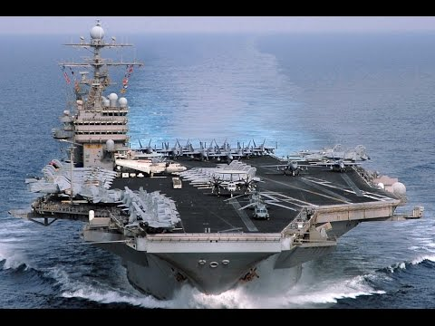 TOURING THE USS THEODORE ROOSEVELT AIRCRAFT CARRIER!!! (6-25-15) [544]