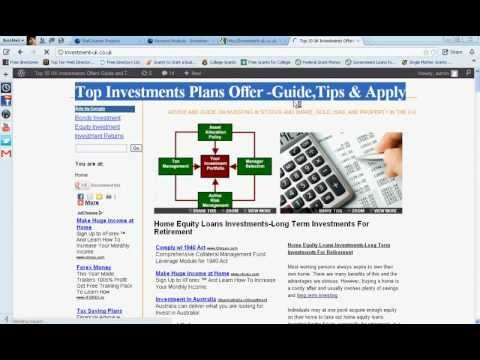 Best Long Term Investments 2012-Best Investment Options For 2012