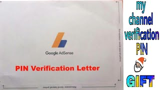 Google Adsense verification PIN receive || thanks a lot ||thanks for supporting our channel