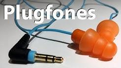 Plugfones earplug headphones review