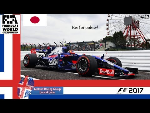 F1 2017 - Grand Prix von Japan - Ligarennen 16 der IRGLL