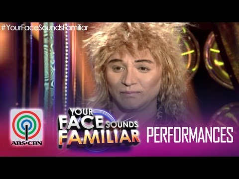 Your Face Sounds Familiar: Nyoy Volante as Rod Stewart -