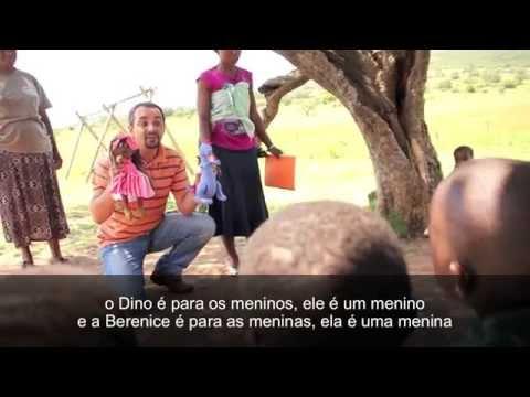 Distribuição dos Dinos e Berenices do Projeto Joelhos de Pano - Suazilândia